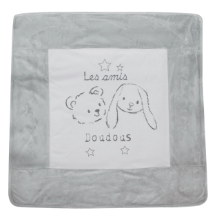 Couverture naissance Lapin Chic