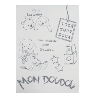 Stickers Lapin Chic