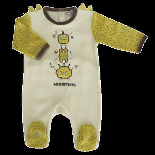Pyjama Family Monsters 3 à 23 mois