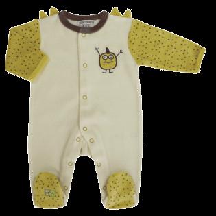Pyjama Family Monsters prématuré (00) à 3 mois