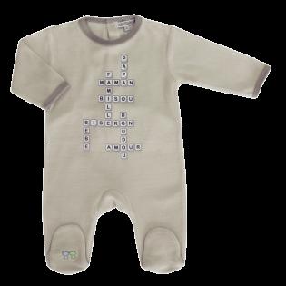 Pyjama Mots Mêlés 3 à 23 mois