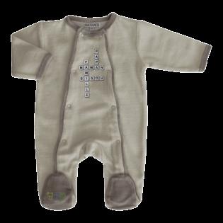 Pyjama Mots Mêlés prématuré (00) à 1 mois