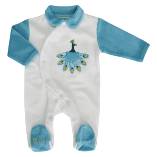 Pyjama Paon Mon Amour Naissance (0) à 6 mois