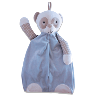 Range couches ou pyjamas Panda Bleu