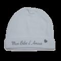 Bonnet naissance coton